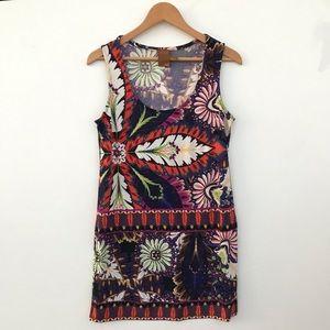 ROS & ALI Long Floral Maxi Dress